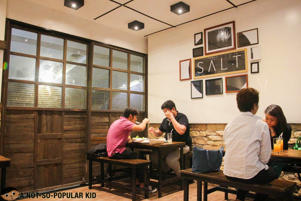 A part of the interior of Salt in Poblacion, Makati