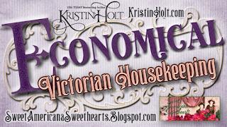 Kristin Holt | Economical Victorian Housekeeping
