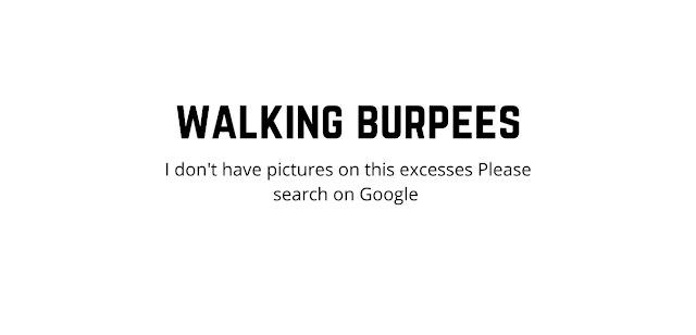 walking burpees