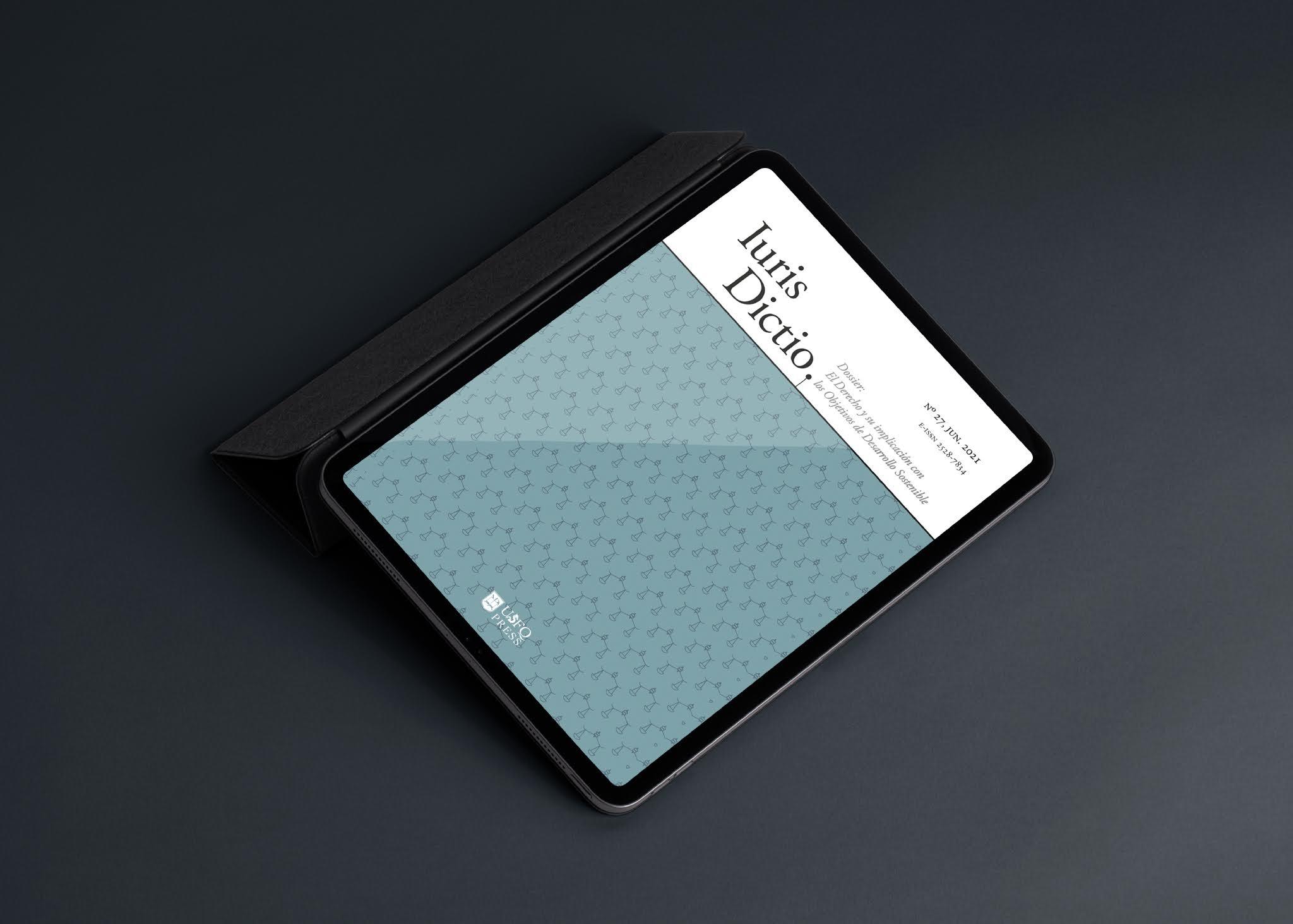 La revista académica Iuris Dictio presenta su nuevo volumen