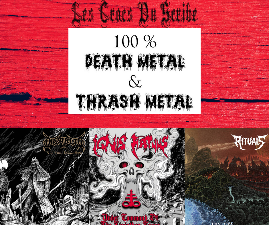 crocs du scribe special death metal