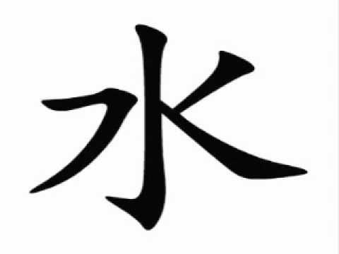 Resultado de imagem para água kanji