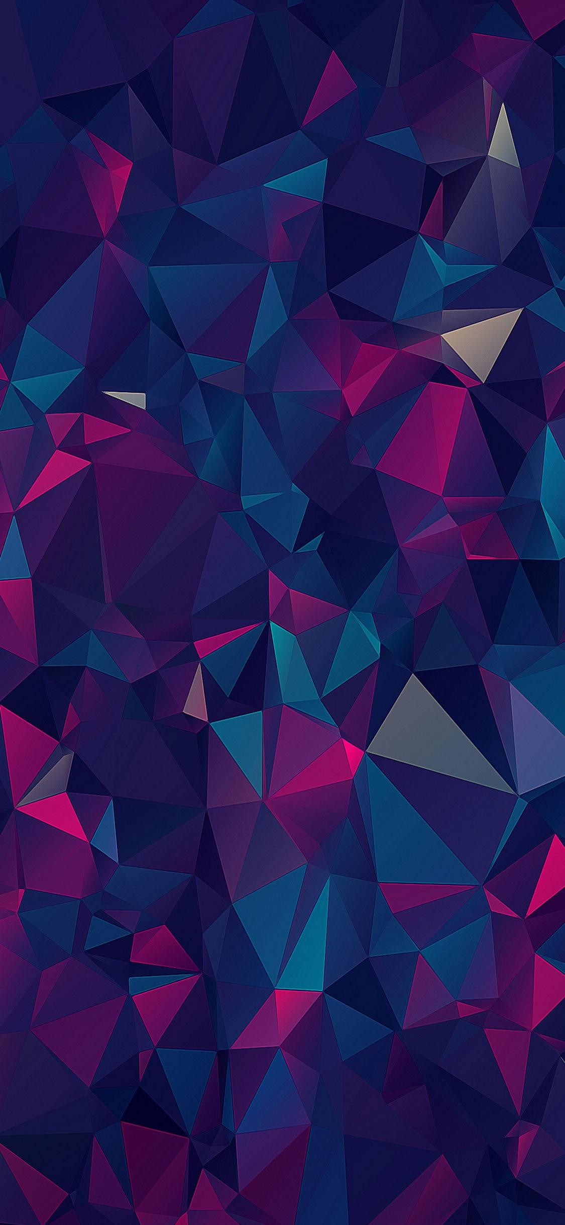 Triangle shape abstract mobile wallpaper