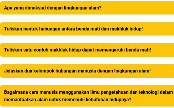 Kunci Jawaban Tema 6 Kelas 5 Halaman 26