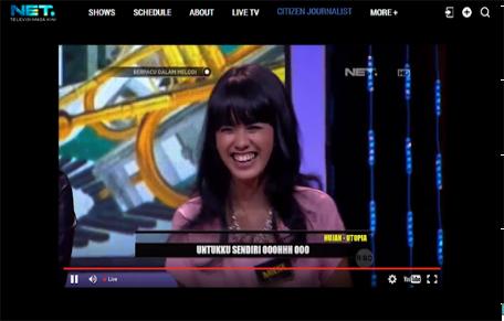Cara Nonton NET TV lewat Online
