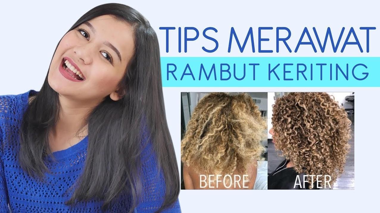 3 Tips Merawat Rambut Keriting