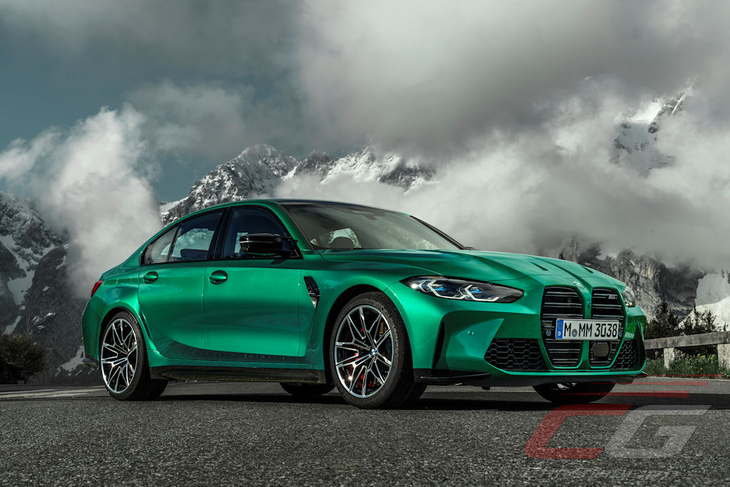 the 2021 bmw m3, m4 break cover with over 500 horsepower