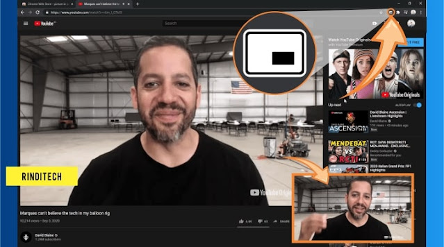 How to always on top videos in chrome browser