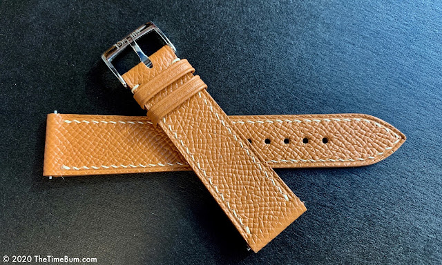 Delugs Watch Straps Epson Slim Golden Brown