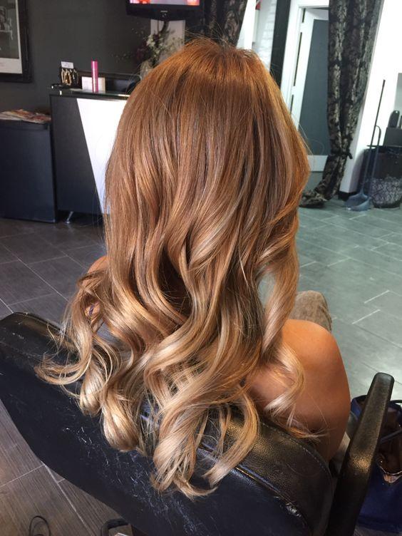 Bronze Hair Color Blonde