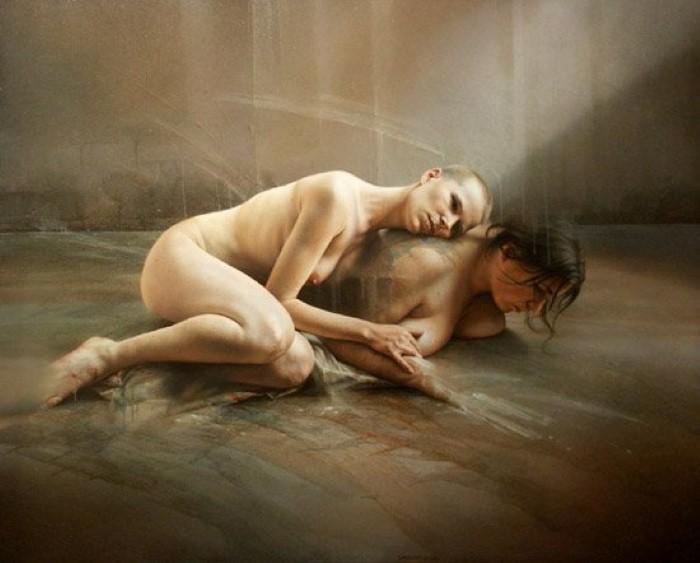 Смесь сюрреализма и реализма Istavan Sandorfi 23