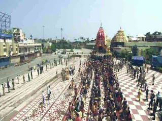 RathYatra 2020 was celebrated without devotees in PURI,ODISHA