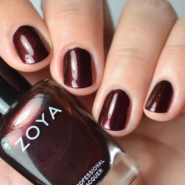 mahogany nail polish