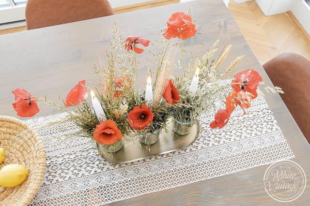 Natürliche Deko aus Blumen und Gräsern selbermachen