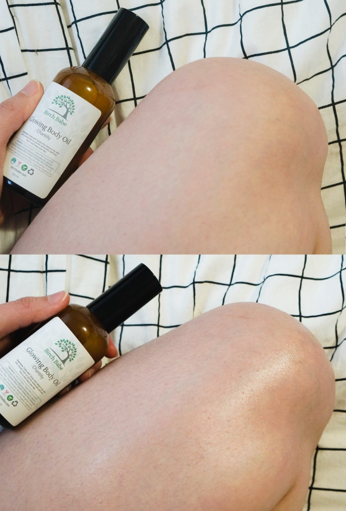 Birch Babe Glowing Body Oil