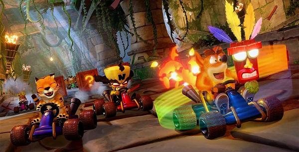 لعبة Crash Team Racing Nitro-Fueled تسيطر على مبيعات شهر يونيو على متجر PS Store و قائمة تحمل عدة مفاجأة..!
