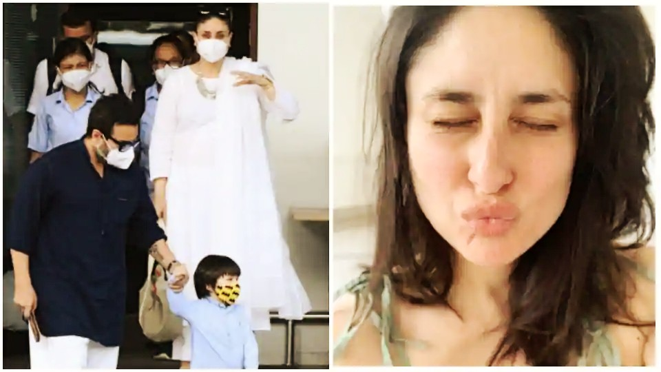Actors Gossips: Kareena Kapoor shares a pouty selfie returns to Mumbai with Saif Ali Khan, son Taimur from Pataudi