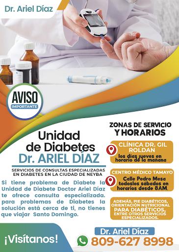 Dr. Ariel Diaz, Unidad de Diabetes.