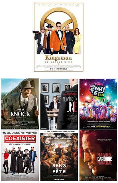 kingsman 2 BO, knock, coexister, My litlle pony le film BO
