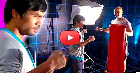 How POWERFUL Manny Pacquiao's Punch? Sports Science Reveals! (VIDEO)