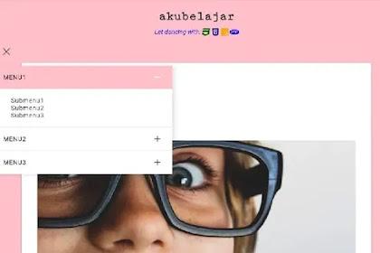 Cara membuat menu blog super keren dengan animasi