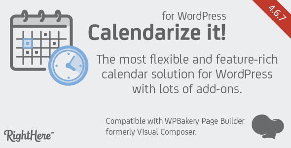 Calendarize it! for WordPress v4.6.7