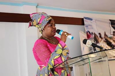 Kilifi Women rep Getrude Mbeyu in a women empowerment Meeting. PHOTO | BANA