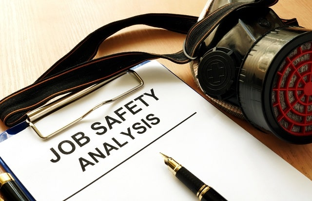 how to conduct a job safety analysis secure work