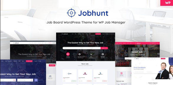 Jobhunt v1.2.3 – Job Board WordPress theme