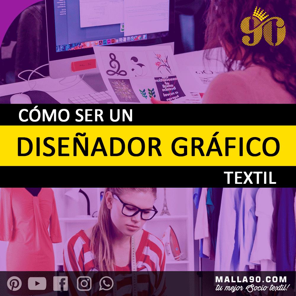 como ser diseñador grafico textil