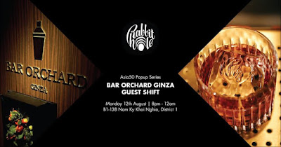 Bar Orchard Ginza sẽ có mặt tại Sài Gòn
