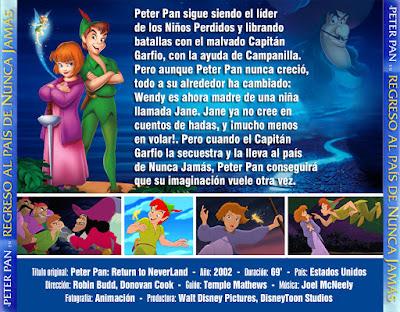 Peter Pan en Regreso al país de Nunca Jamás - [2002]