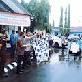 Bupati Bersama Kapolres Kepulauan Selayar Lepas Penyaluran Bansos PPKM Darurat