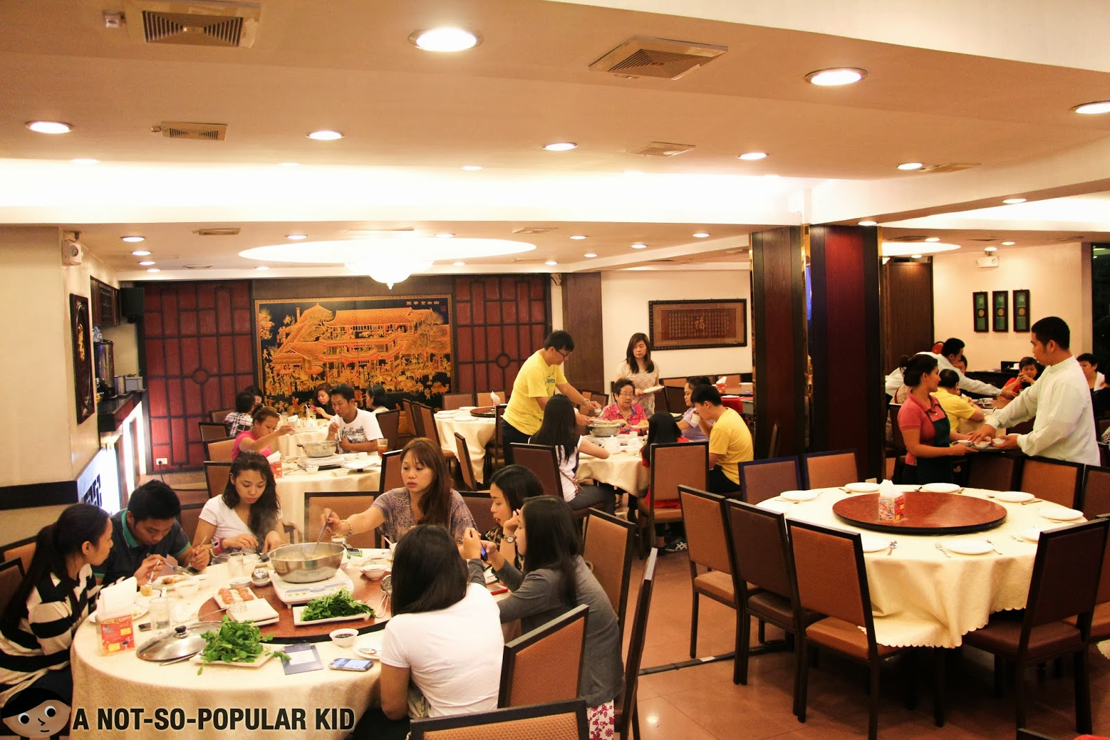 The Interior of Golden Fortune in Kalaw near U.N. Avenue LRT Station