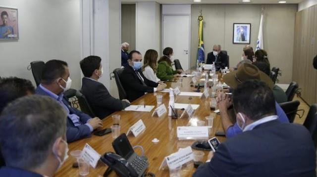 O Prefeito de Águas Lindas de Goiás! Dr. Lucas se reúne com o Ministro da Saúde