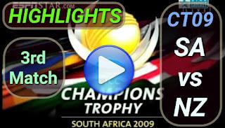 SA vs NZ 3rd Match