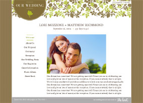 Wedding Website Sample Inncredible Events Post It