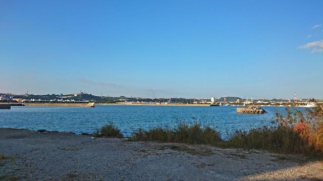 めん処 幸の前の海の写真