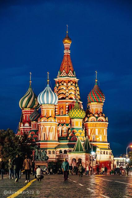 聖巴西爾大教堂Храм Василия Блаженного