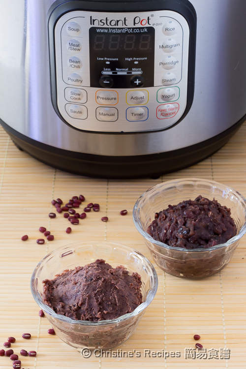 豆沙(壓力煲) Red Bean Paste Instant Pot01