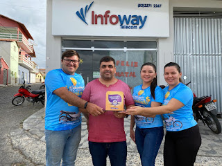 Infoway Telecom é eleita o melhor provedor de Internet no ano de 2020 em Picuí