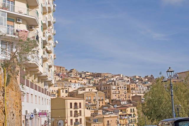 Agrigento widok na miasto, Sycylia, okolice Palermo co zobaczyć