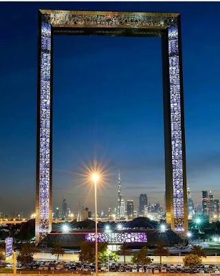 Bingkai Gambar Terbesar Dunia di Dubai