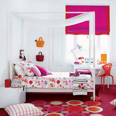 House Designs: Awesome Decorating Ideas For The Pink Room Teen Girl
