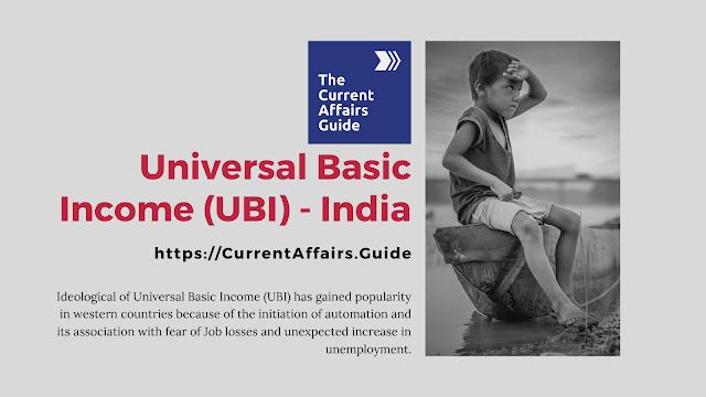 Universal Basic Income India