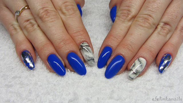 Baseveheinails Marble Nails Marmurkowe Paznokcie