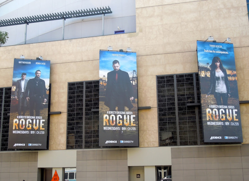 Rogue TV billboards