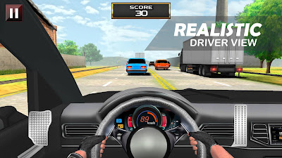 Gratis Unduh Racing In Car – Driver View APK