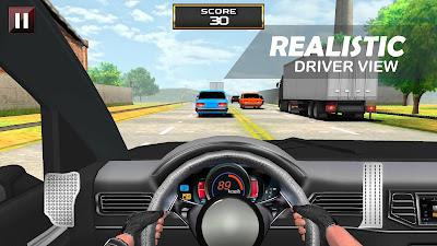 Gratis Unduh Racing In Car – Driver View APK