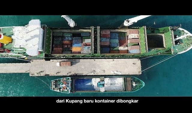 Masih Ingat Tol Laut Yang Dikonsep Pak Jokowi? Ini Dia Berlayar Ke Pulau Sabu